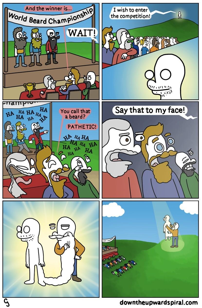 Beard. . pirat. com funny comic downtheupwardspi