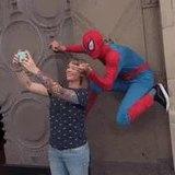 hollywood boulevard Spider-Man