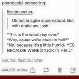 Joshing of the Drake, supernaturaly