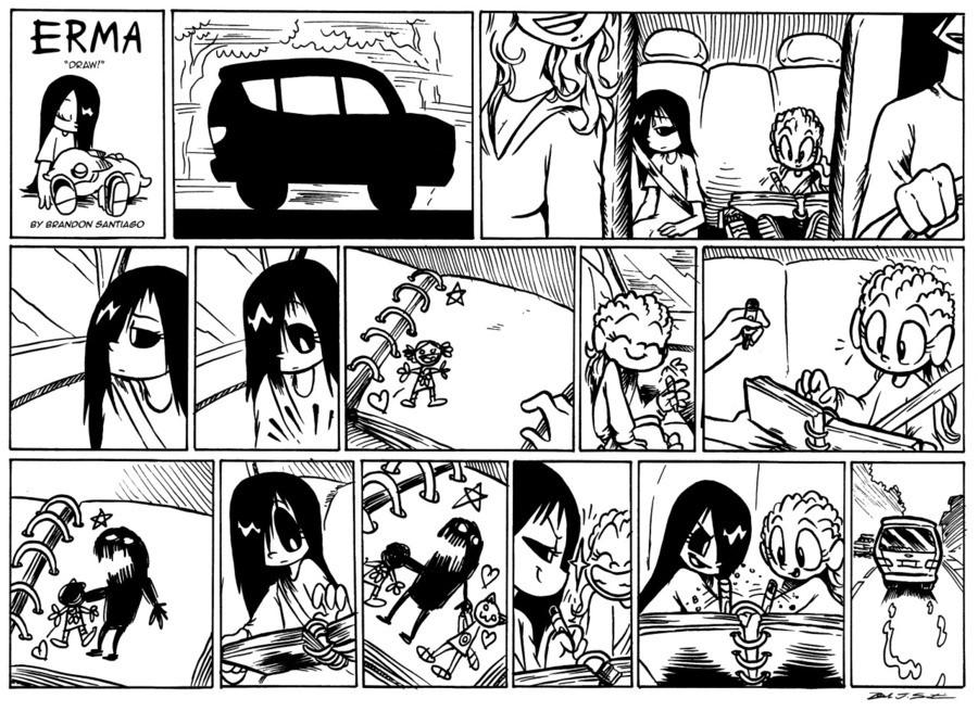 New Erma comic.. Source: brandontheoutcast.tumblr.com/.. What if erma emily