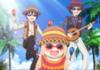 Anime hamster girl spanish themed rave