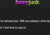 Admin's Cruel Joke.